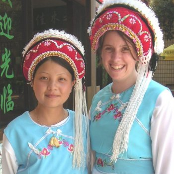Traditional Naxi Dress in China
